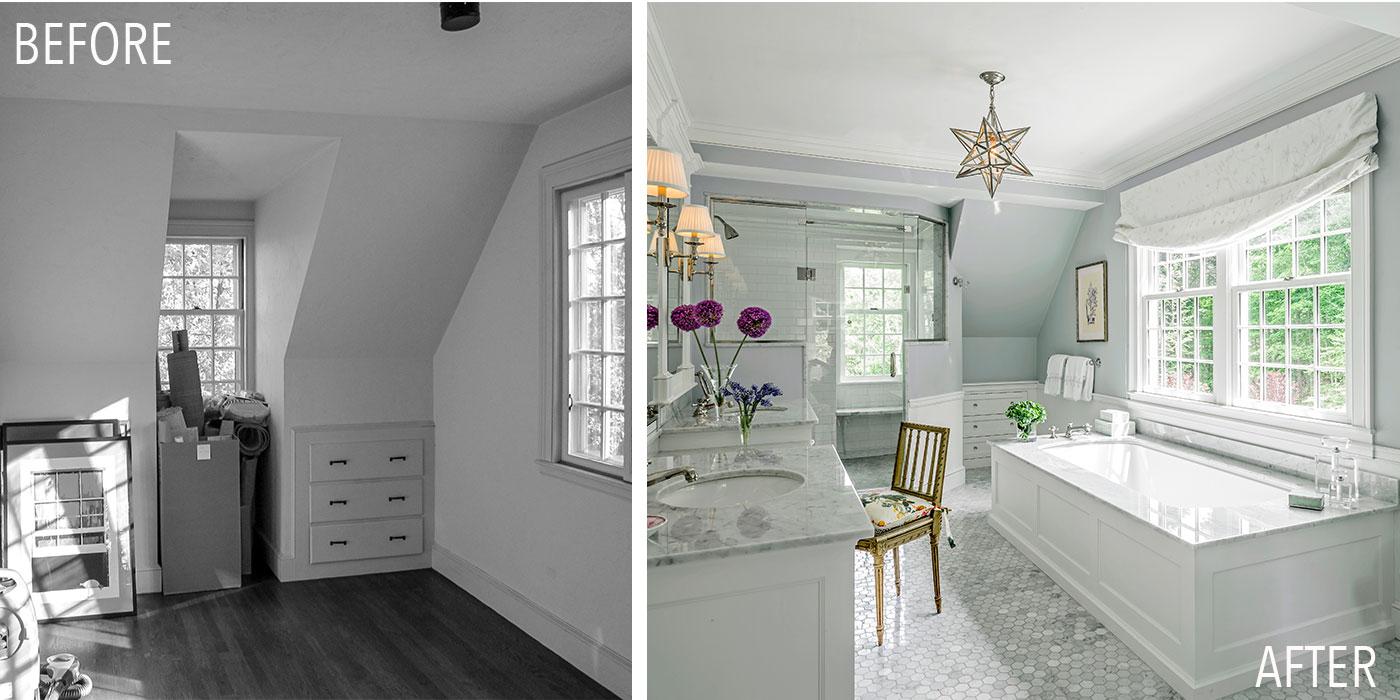Bathroom renovation by Jan Gleysteen Architects