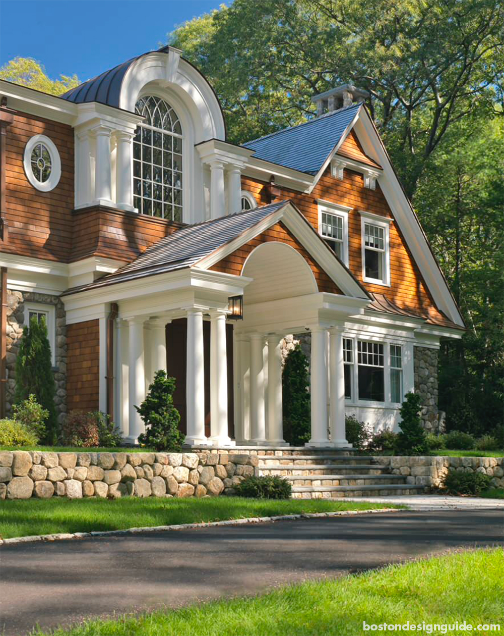 high end home architecture in New England