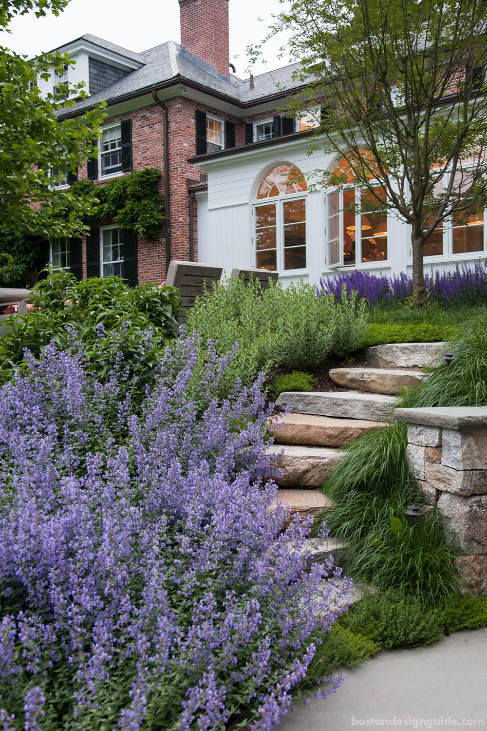 beautiful landscape architecture in New England