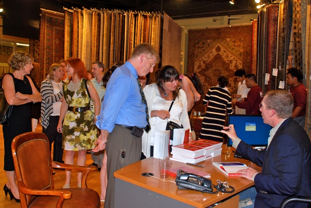 James Swan Book Signing at Dover Rug in Natick, MA | Boston Design Guide