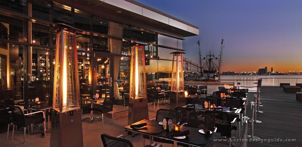 Architecture Design Guide sleek architectural design at boston restaurant | boston design guide