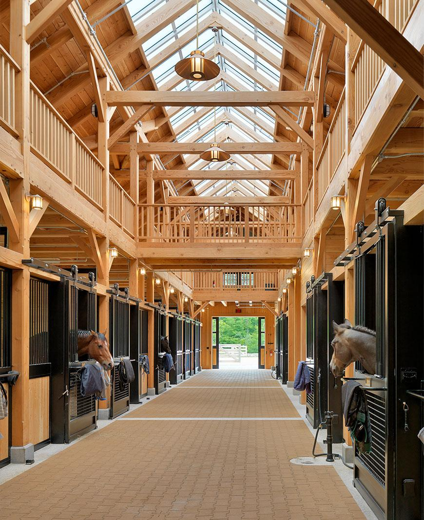 High-end New England Equestrian Estates and Stables