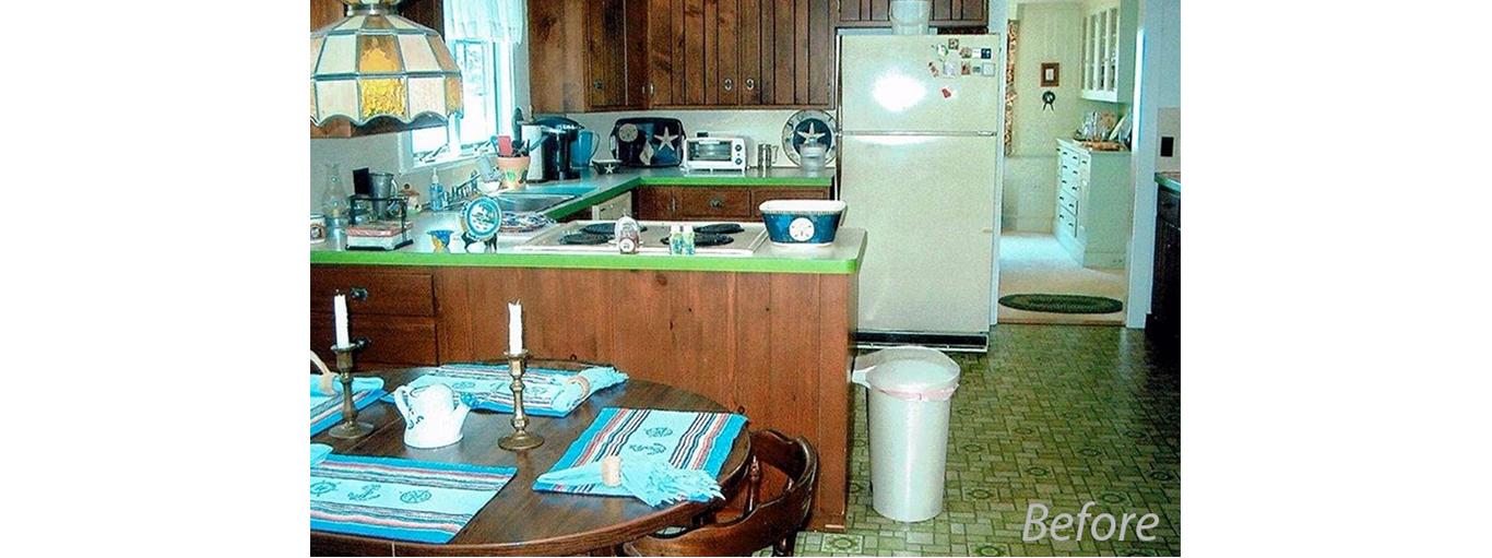 Cape Cod Cottage-Style Kitchen Makeover