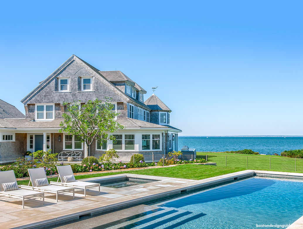 Step inside an oceanfront paradise on cape cod boston for Oceanfront house plans