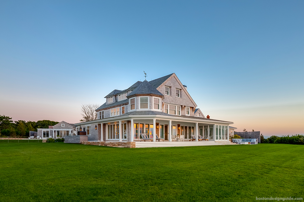 Step inside an oceanfront paradise on cape cod boston for Cape cod architects