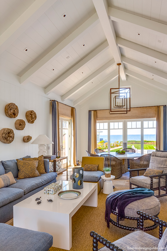 Step Inside an Oceanfront Paradise on Cape Cod | Boston Design Guide