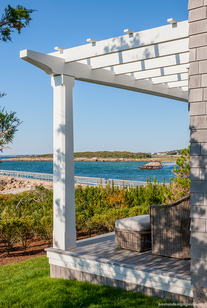 Ocean view homes and Landscape in Cape Cod