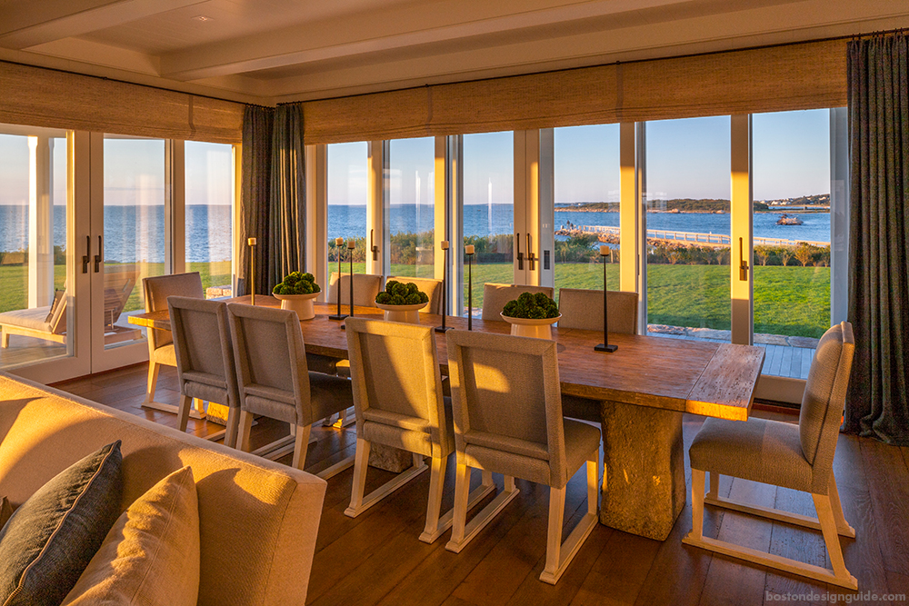 Exquisite Beach Home Dining Interior Design
