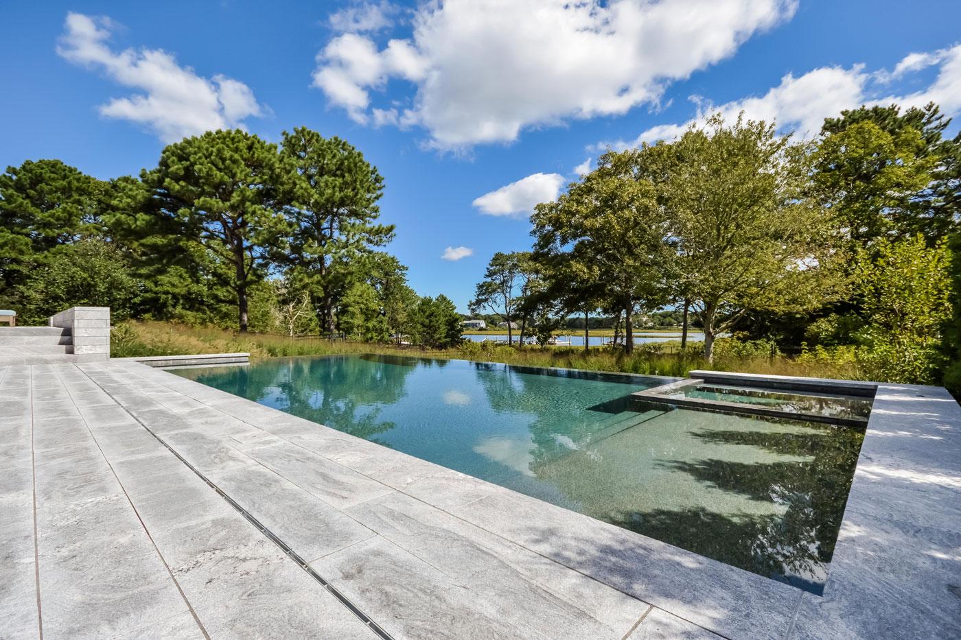 High-end pool design by Bernice Wahler Landscapes