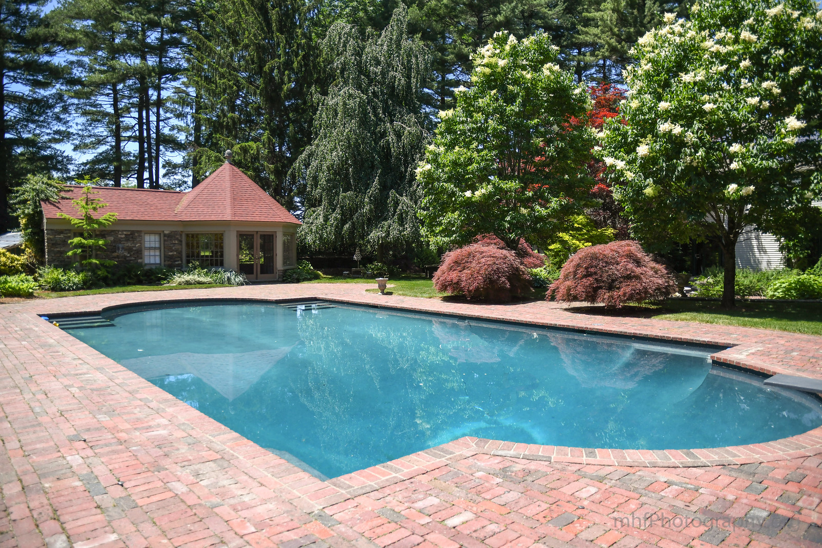 gorgeous pools and pool houses for sale in new england