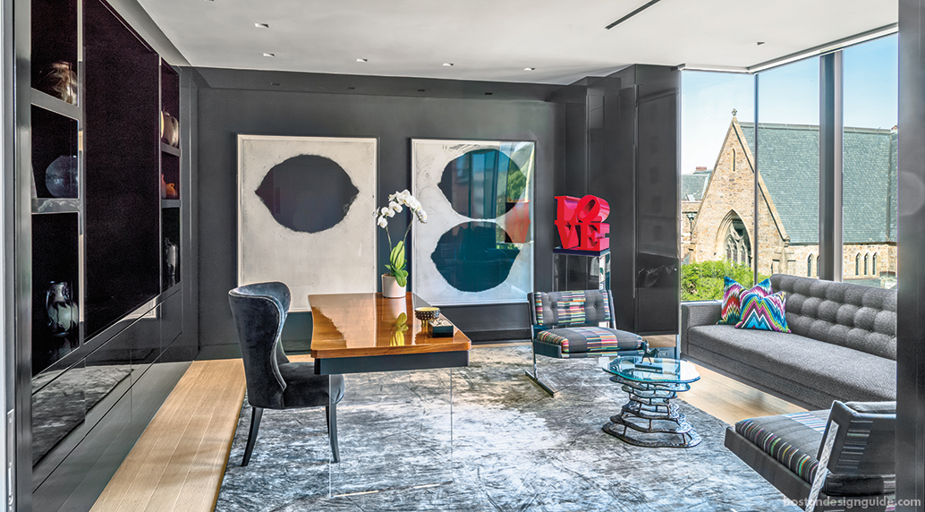Luxe Interieur Design : A luxe urban condo summons sleek sophistication boston design guide
