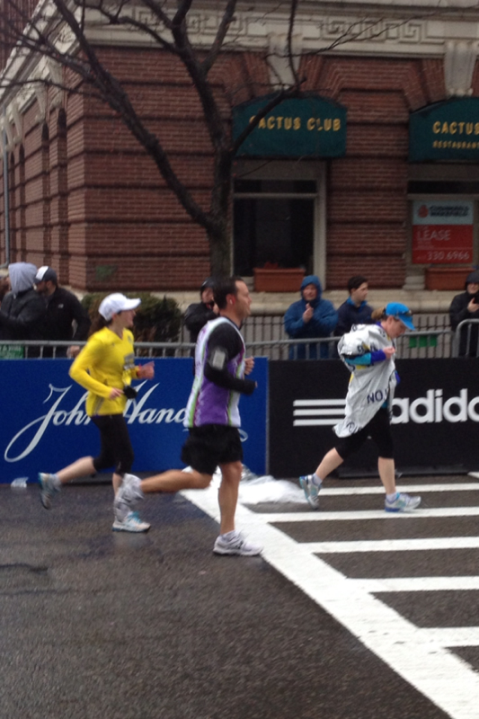 Boston Marathon Experience