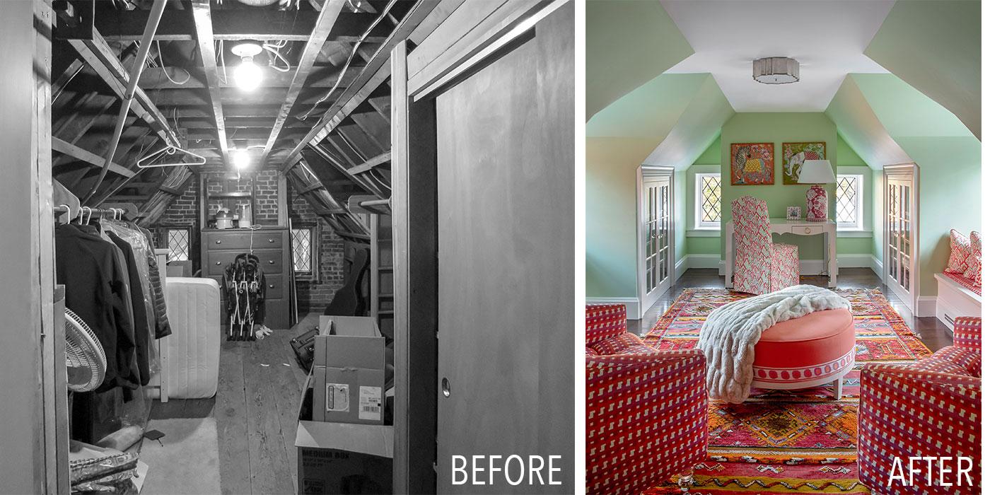 Historic office attic renovation by Jan Gleysteen Architects