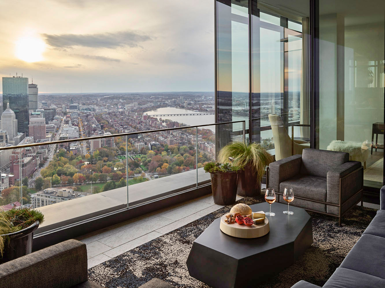 Custom Boston high-rise residence built by brookes + hill builders