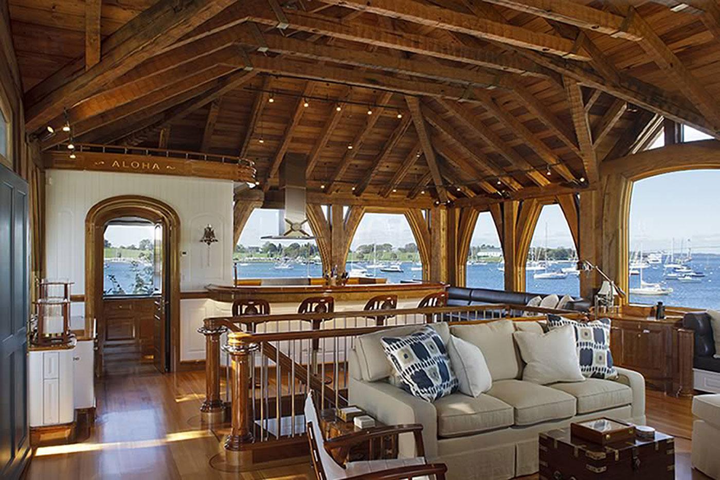 Historic boathouse renovation