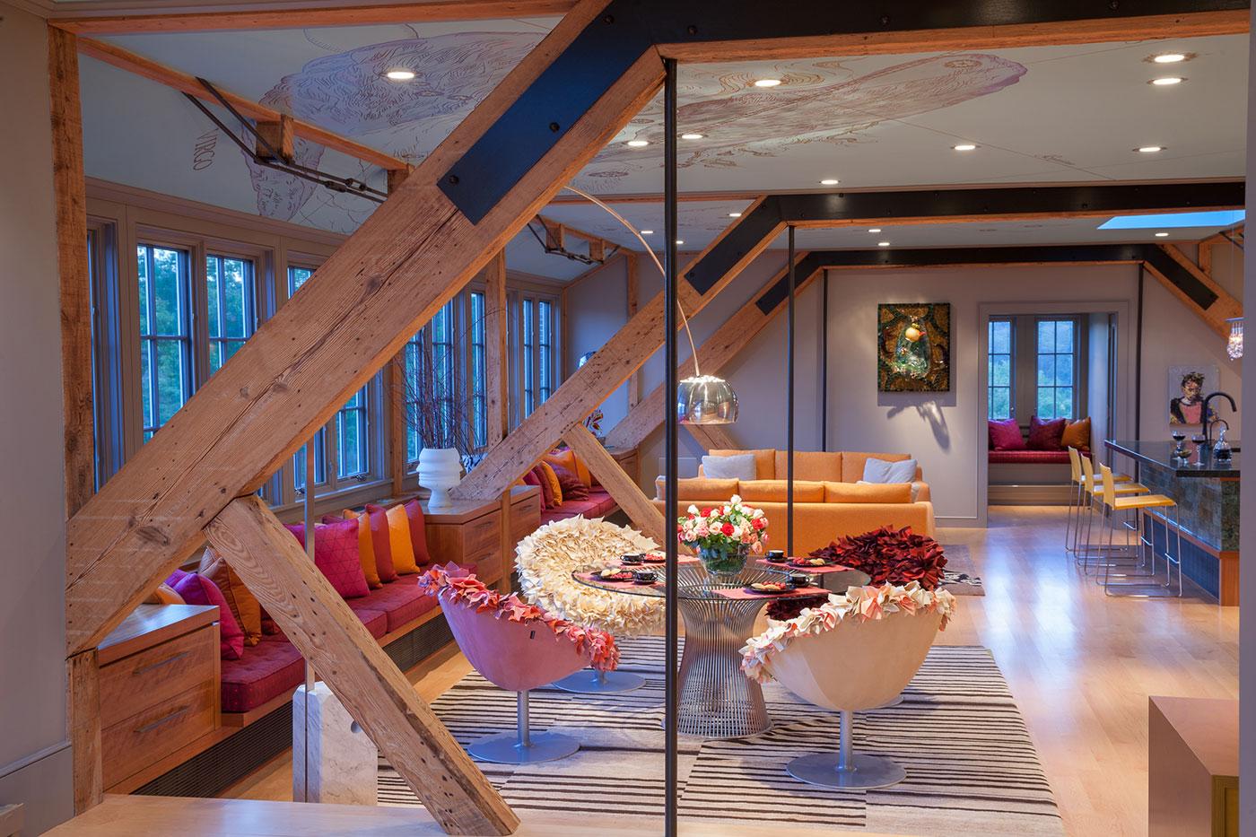 Custom art-filled home