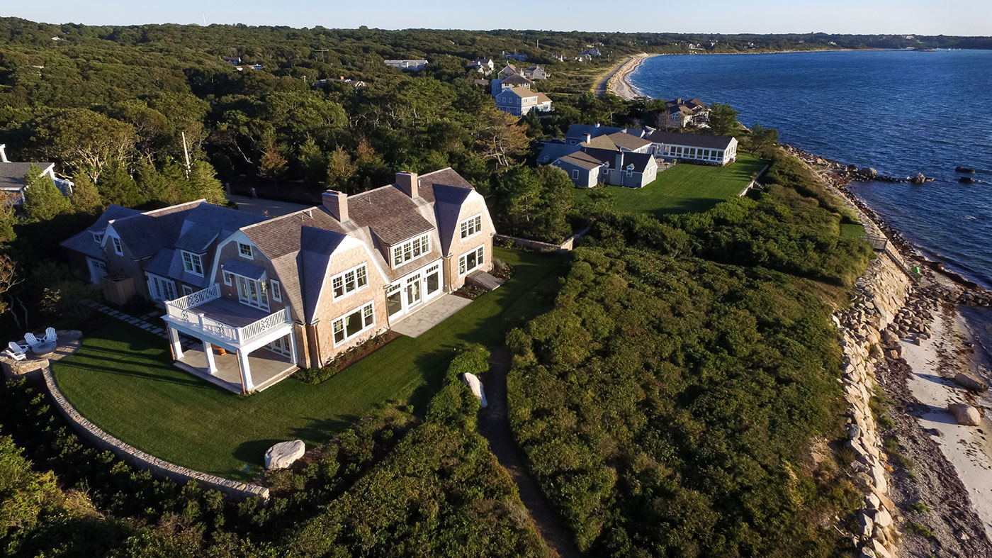 Custom home on Cape Cod