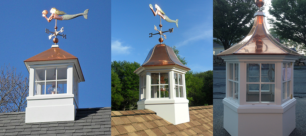 Cape cod cupola adds style and interest to homes boston for Pictures of houses with cupolas