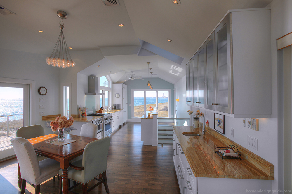 cape cod kitchen design. Provincetown Cape Cod Custom Home A Must See Waterfront Kitchen Renovation  Boston Design Guide