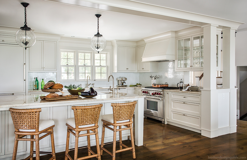 Transforming a classic cape cod summer home into an Cape cod style kitchen design