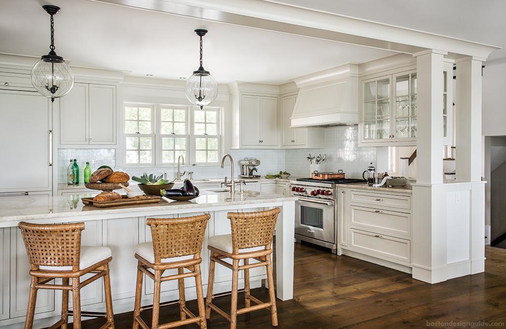 New England Cape Cod Kitchen Design