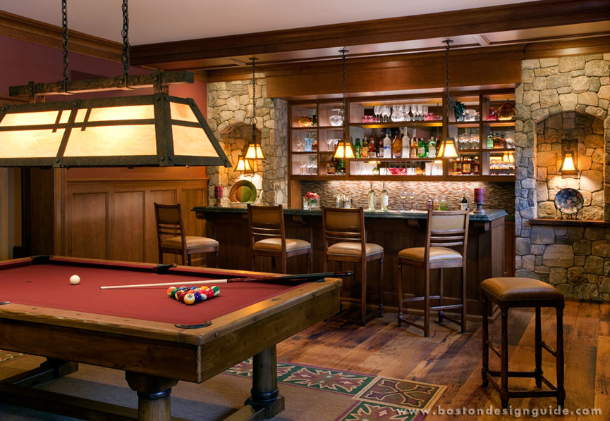 The Making Of A Man Cave Boston Design Guide