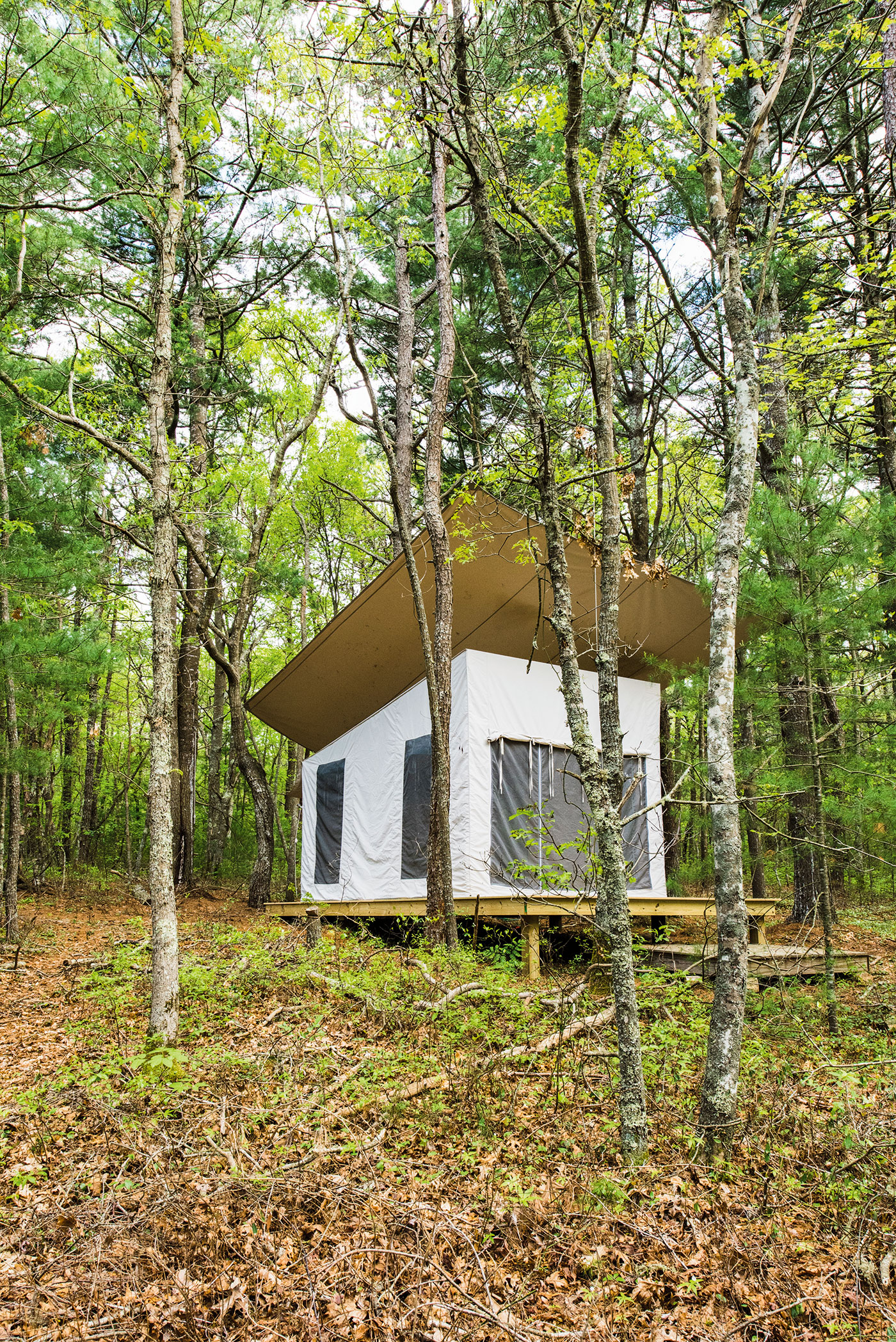 Kids Glamp designed by Cape Cod architect Jill Neubauer of Jill Neubauer Architects