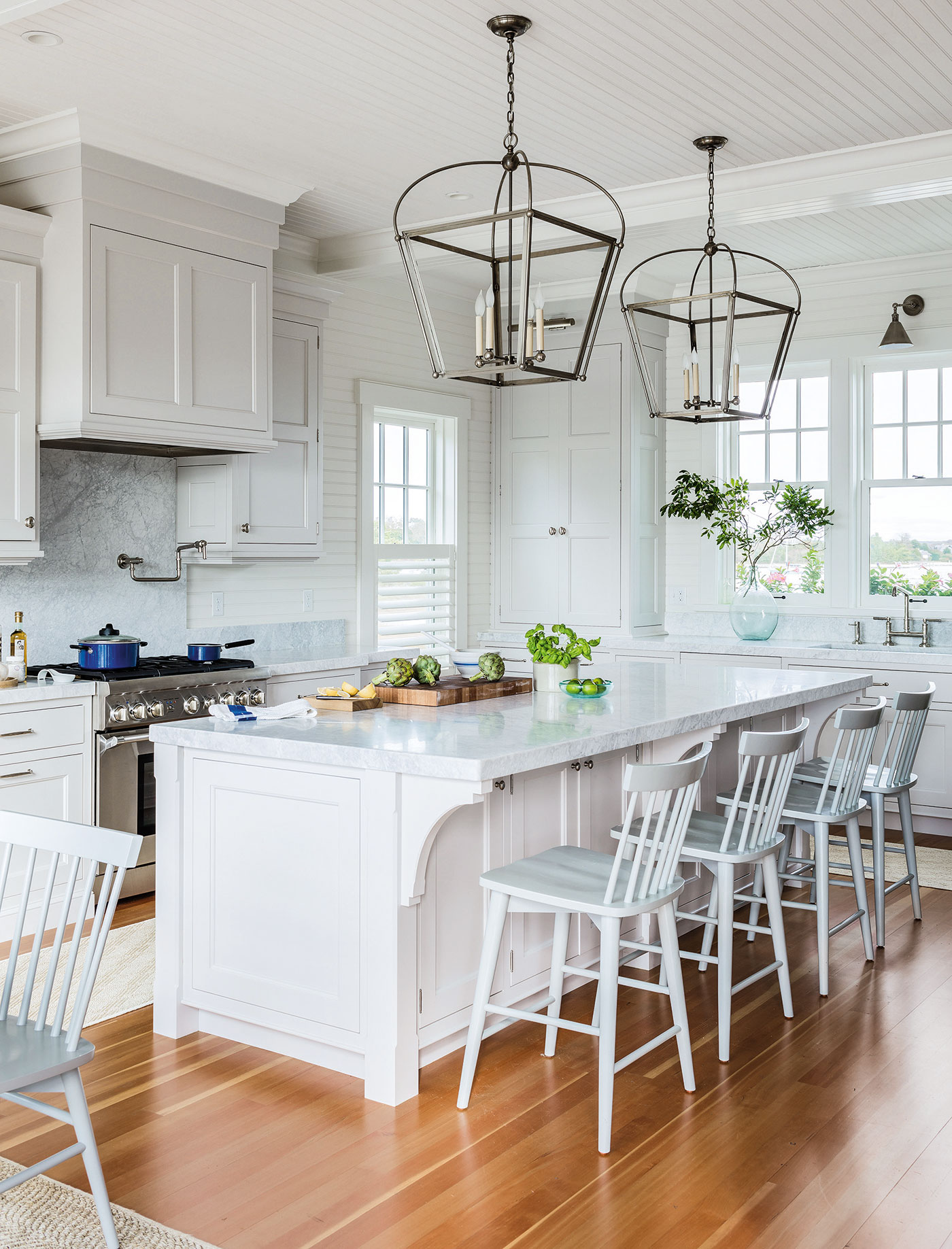 A custom kitchen addition for a historic Cape Cod home