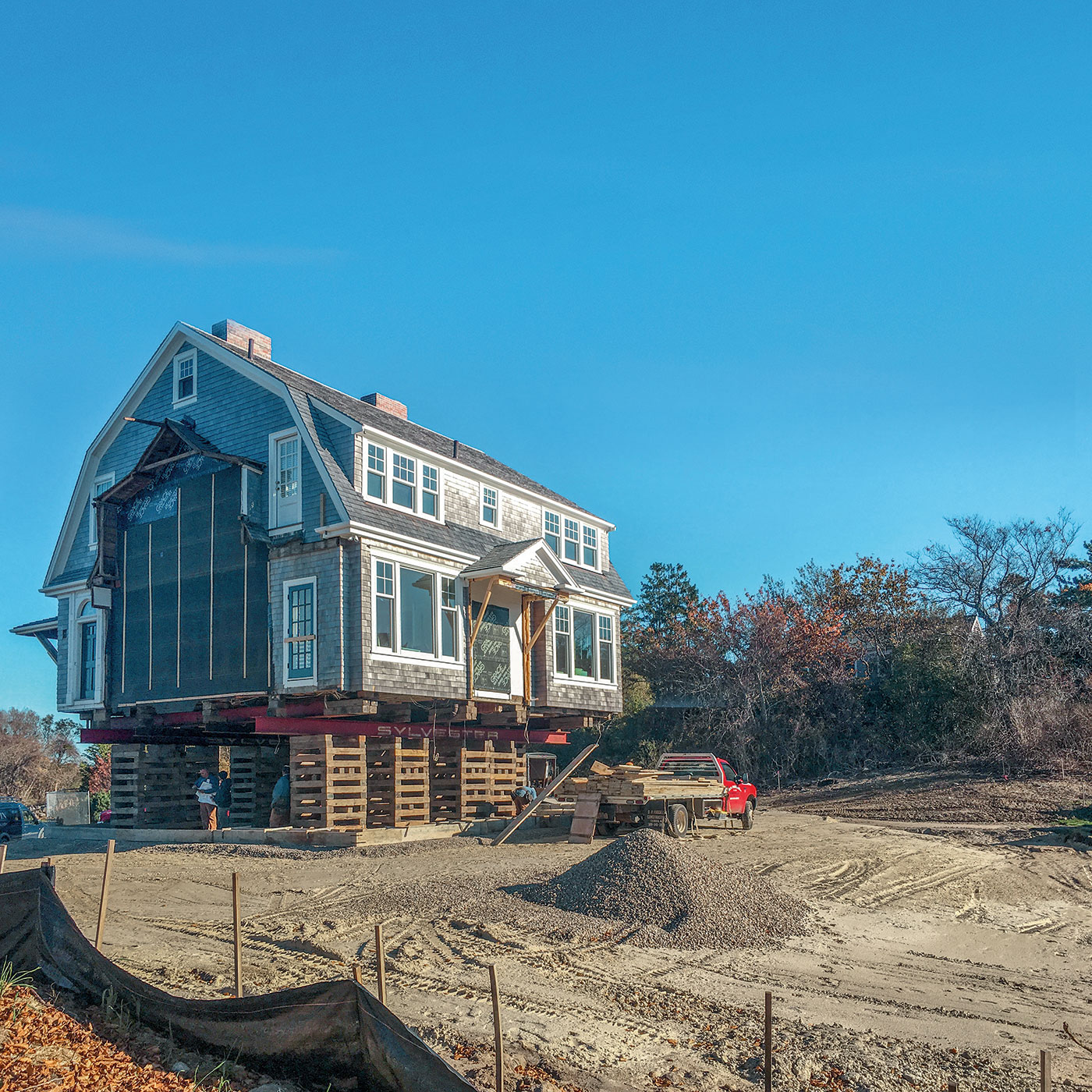 A FEMA compliant, historic Cape Cod renovation