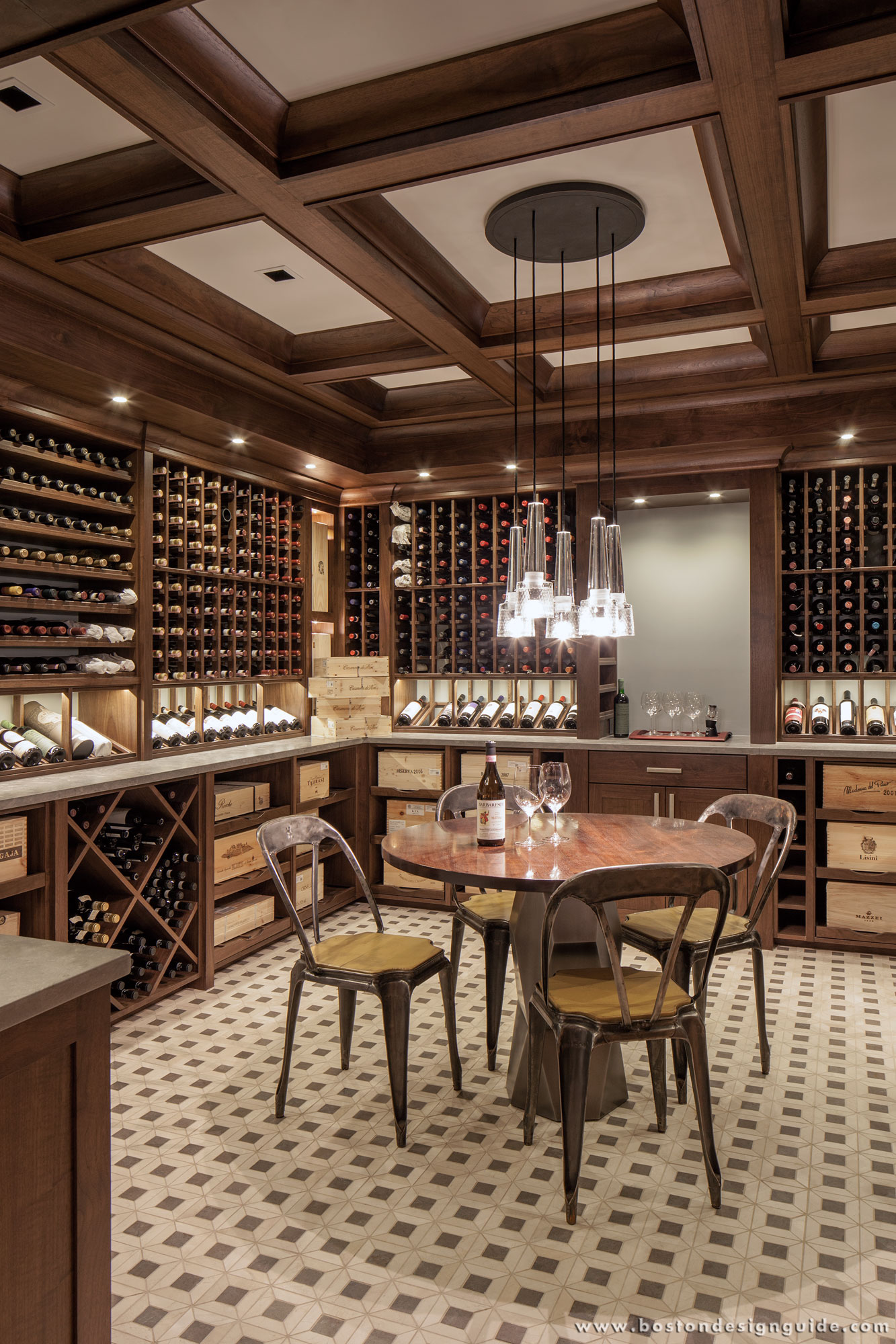 Charles river wine cellars for Wine cellar layout