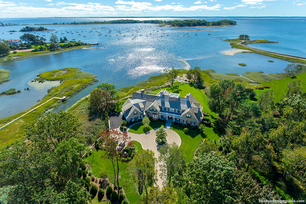 shingle style homes in New England
