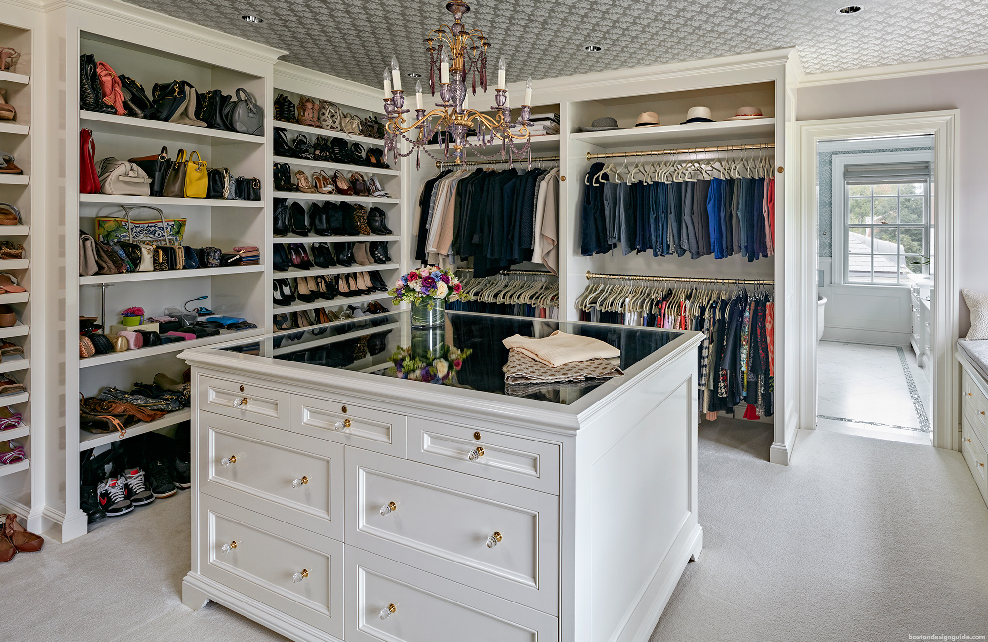 home walk-in closet