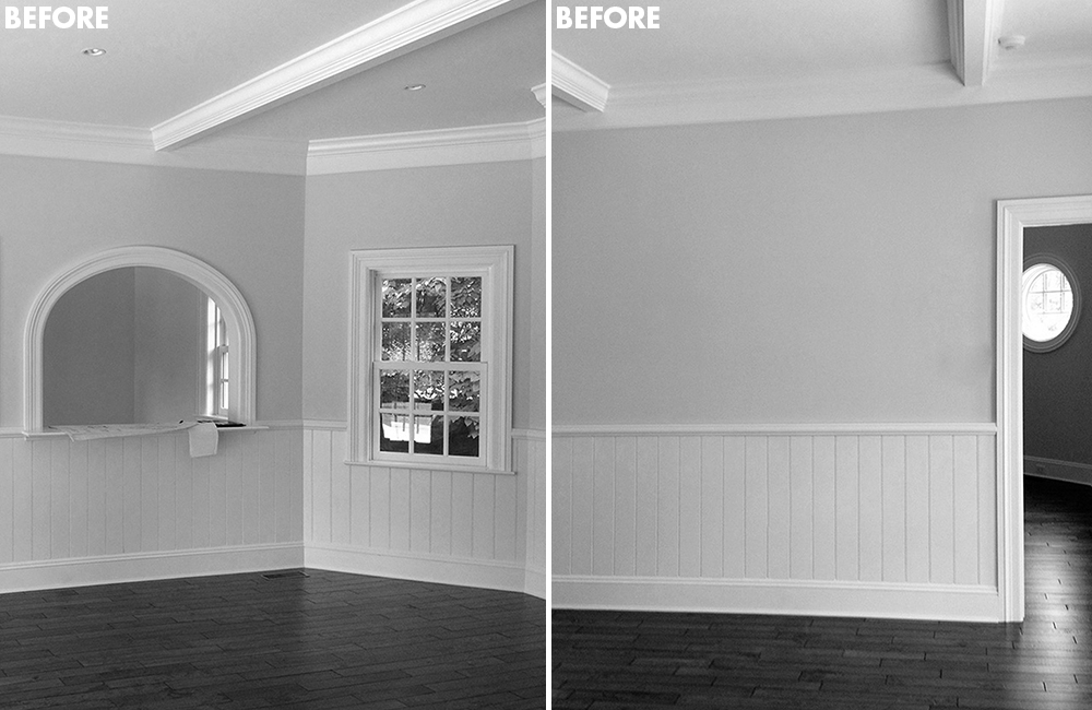 before and after renovation home images