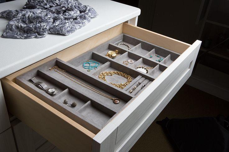 Beautiful Jewelry Drawer By California Closets