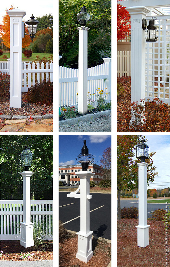 Maintenance Free Lantern Posts Boston Design Guide