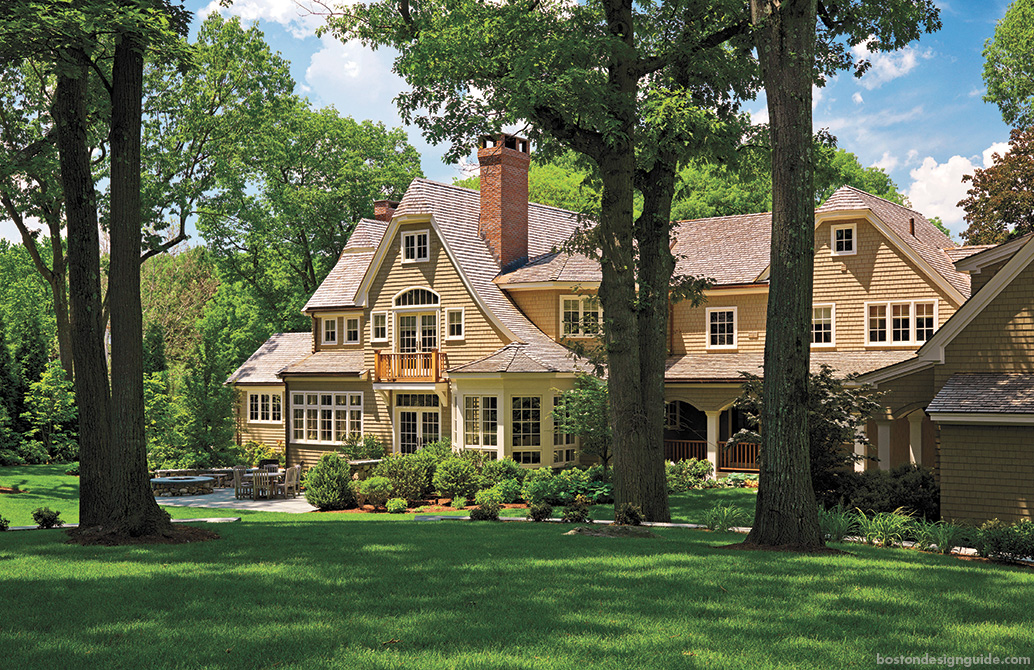 New England Classic home design construction architecture