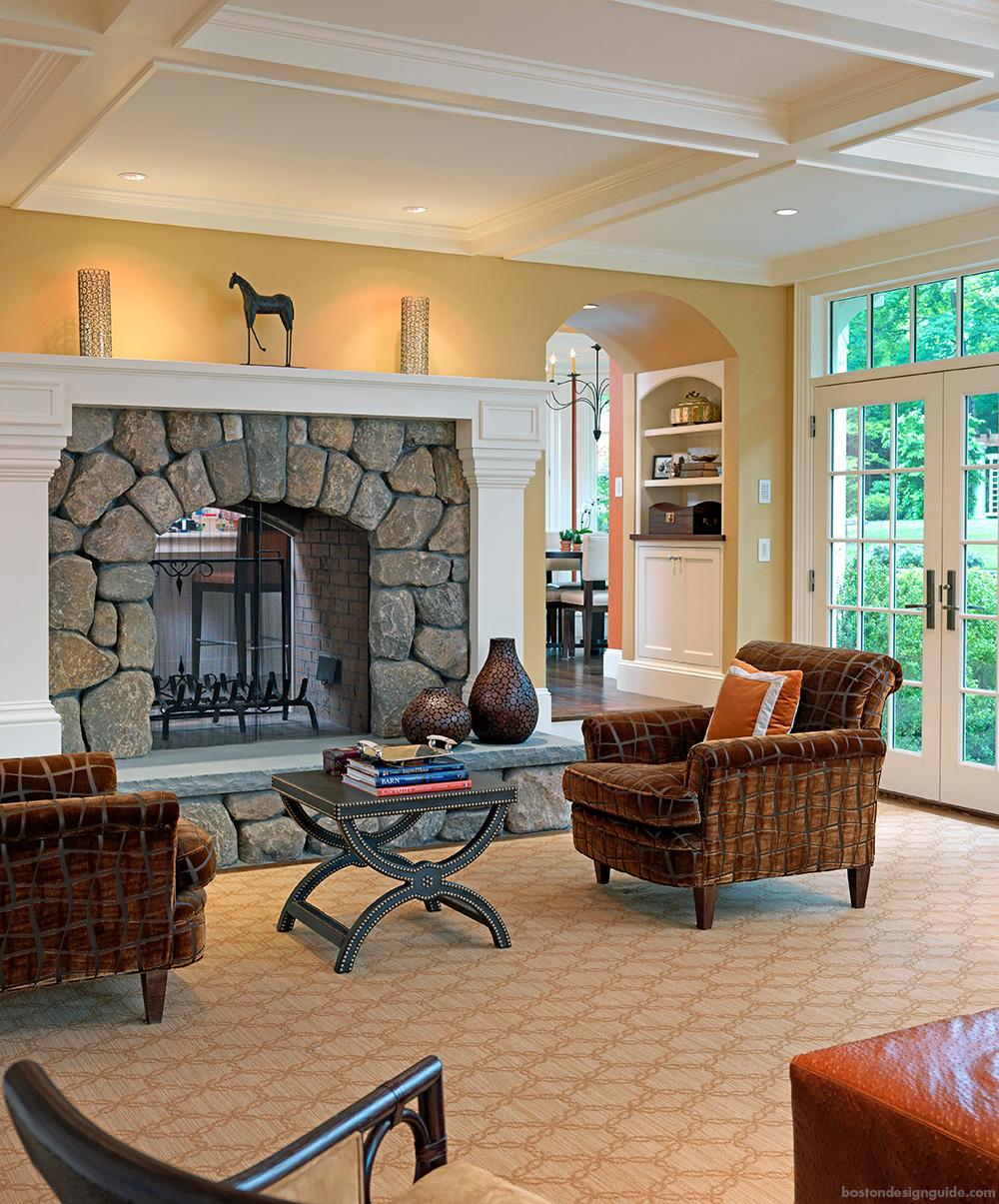 New England modern interior luxury homes