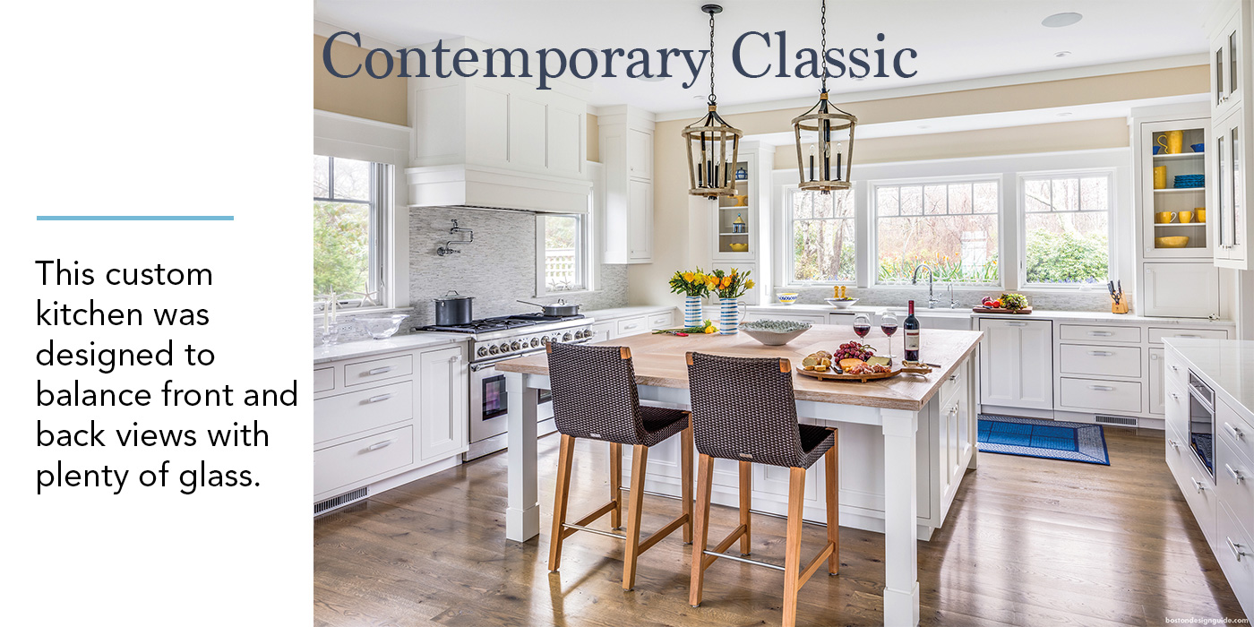 Coastal Kitchen, Contemporary Classic