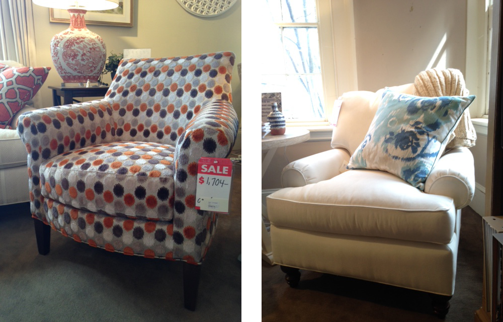 Bedding and upholstery sales