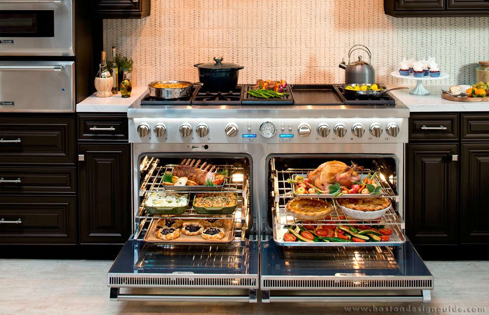 Crane Appliance's 60-inch range collection with double oven