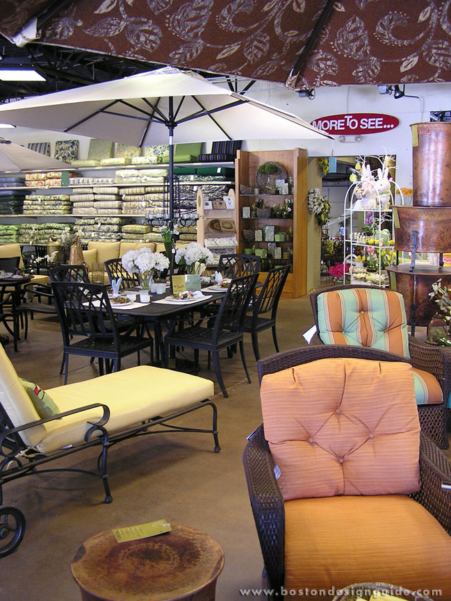 An extensive selection of cushions, accessories and furnishings at Seasons Four