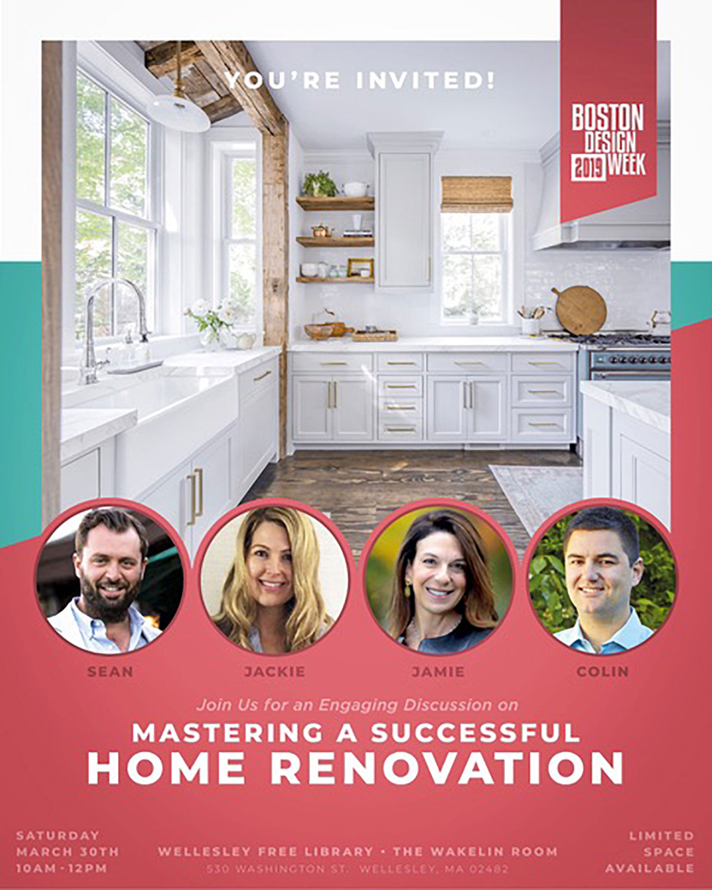 Mastering a Successful Home Renovation Boston Design Week Event