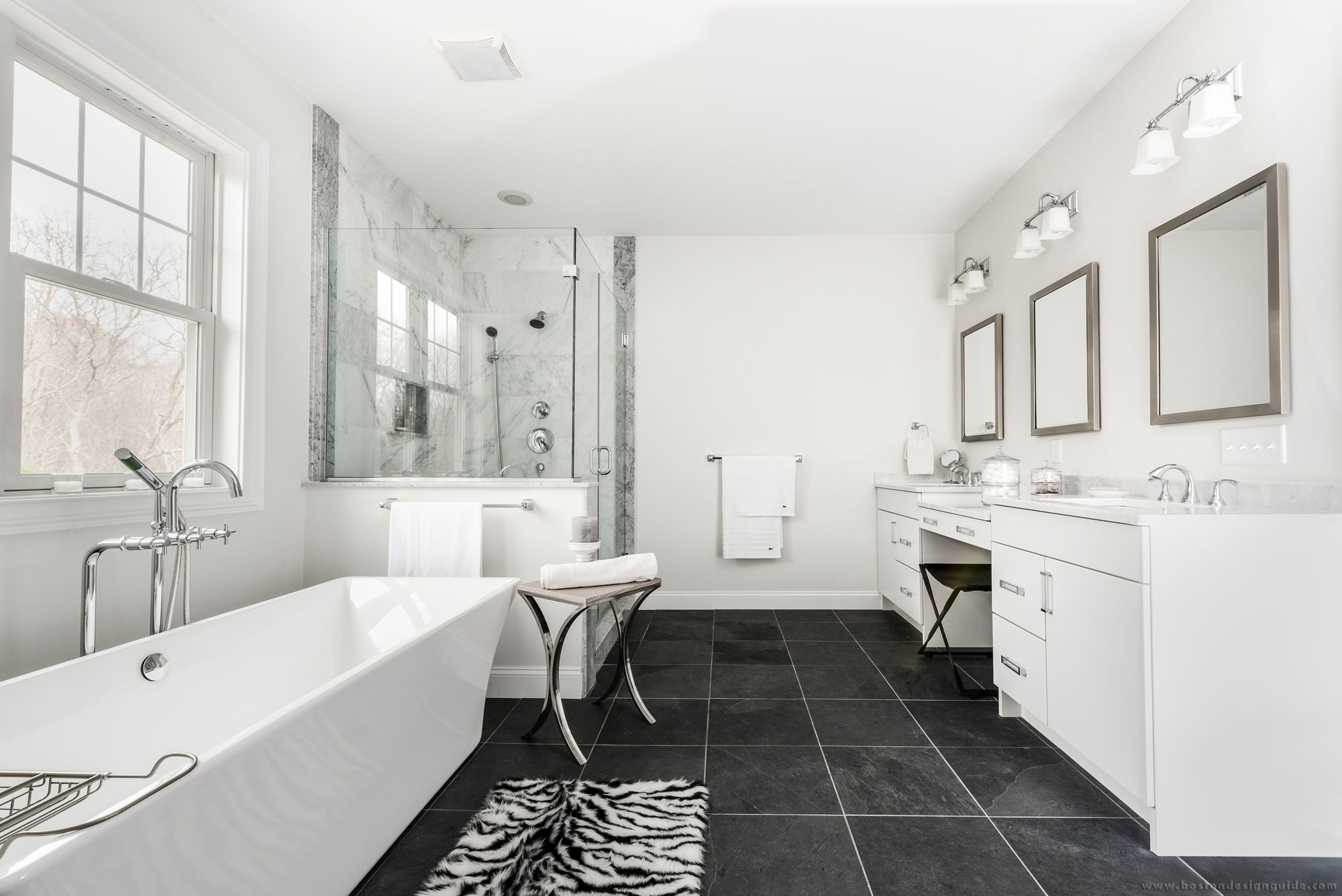 How to complete the calm retreat in your master bath for Master bathroom fixtures