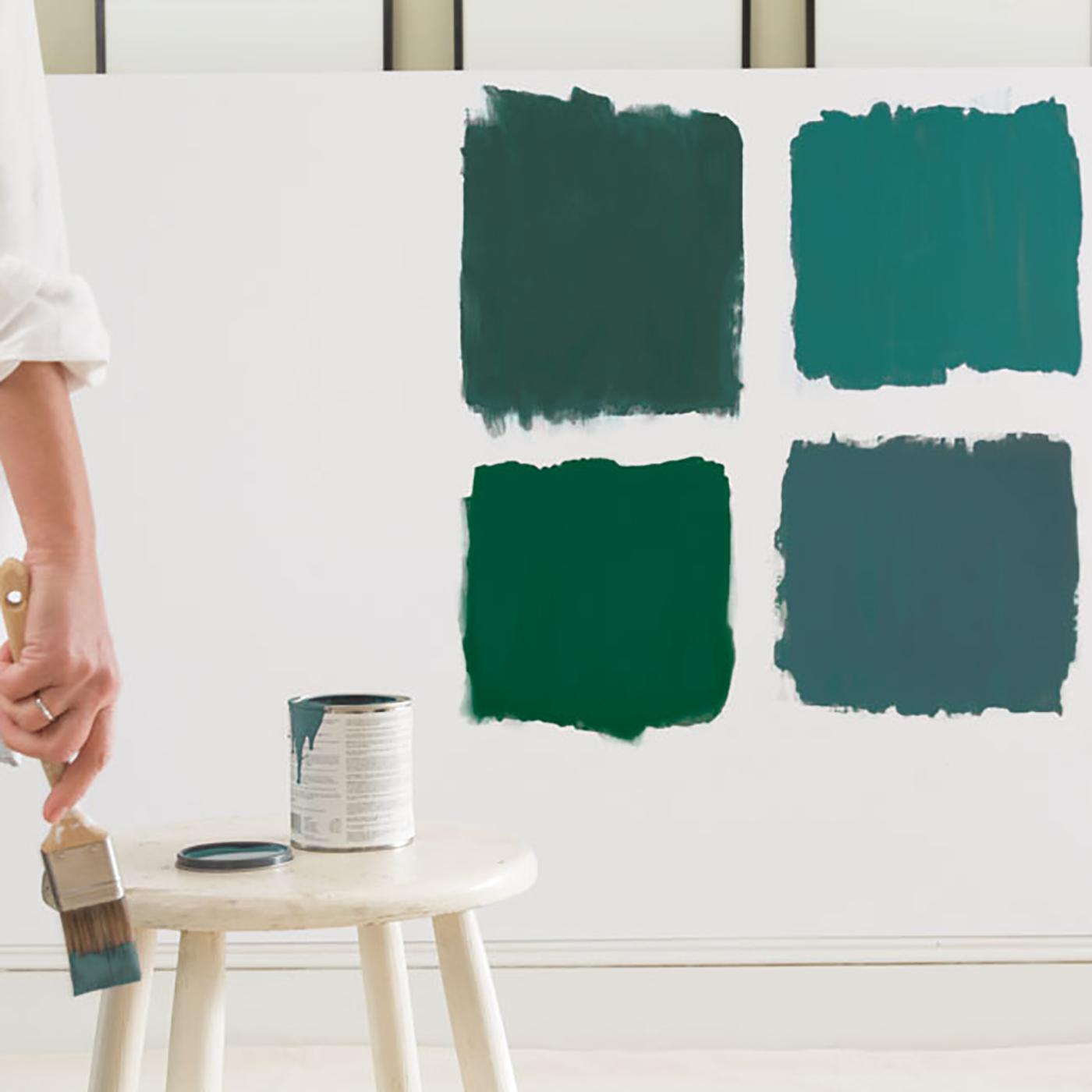 Benjamin Moore paint, color rental