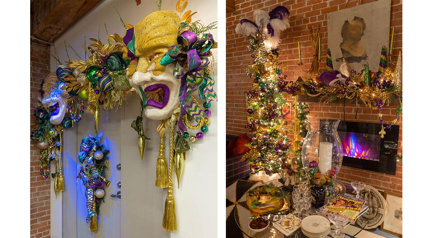 Mardi Gras Decorations by Eric Haydel Design