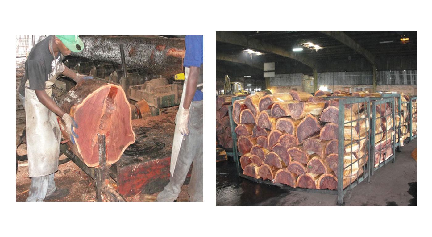 Turada Hardwood Shingles made from wallaba wood
