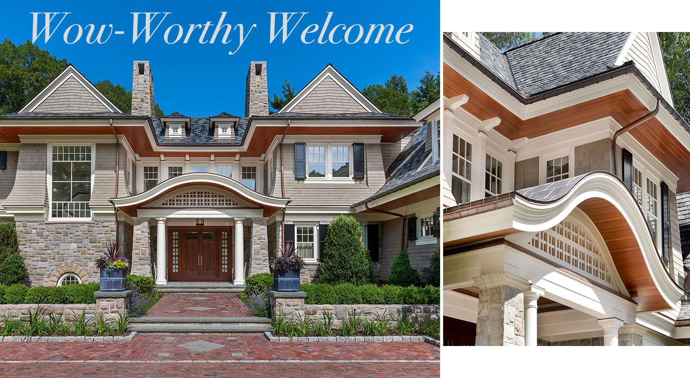 Entry by architect Shope Reno Wharton