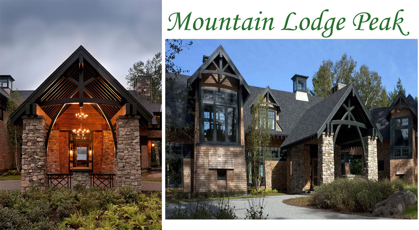 Mountain-style home by architect Shope Reno Wharton