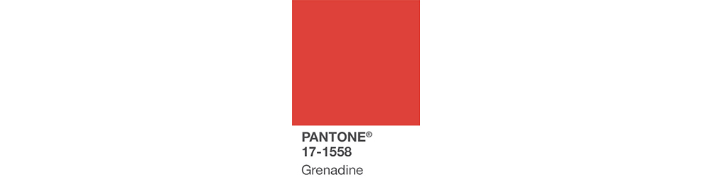 PANTONE design inspiration grenadine
