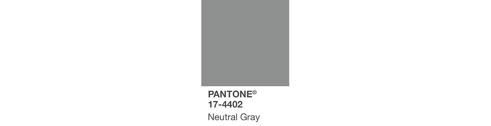 PANTONE color palette fall 2017
